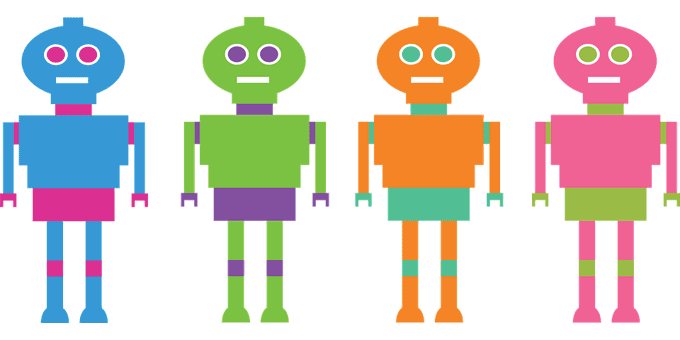 robot fake adv