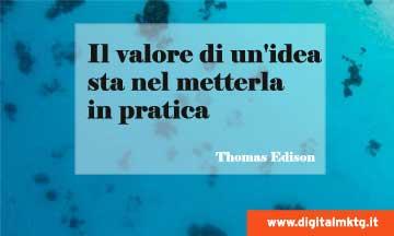 citazione Thomas Edison