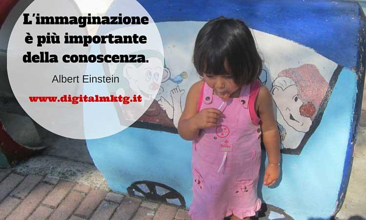 Citazione Einstein su immaginazione