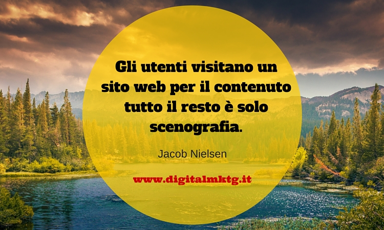 citazione Jakob Nielsen