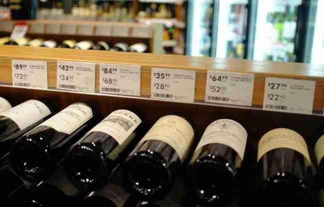 prezzo vino