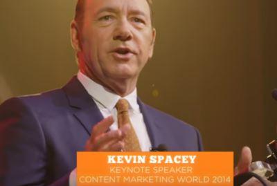 Il content marketing secondo Kevin Spacey